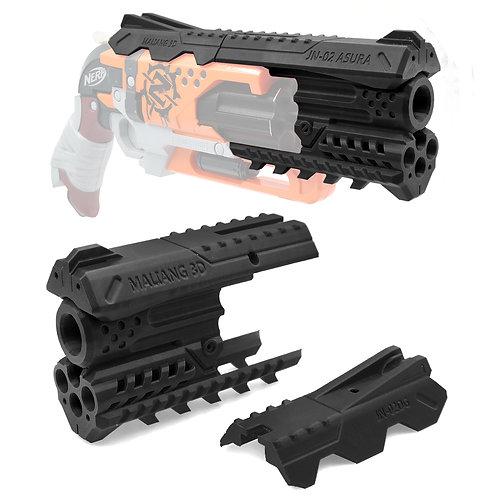 MaLiang 3D Print JN02 Asura Pistol Barrel Set for Nerf HammerShot
