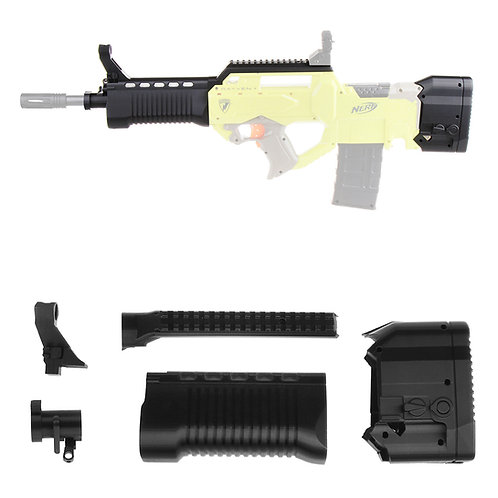 Worker MOD F10555 HAMR Bullpup Barrel Buttstock for Nerf Rayven