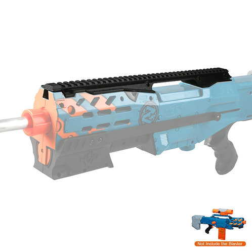 Worker MOD F10555 Tactical Top Rail Handle 3D Printing for Nerf LongShot
