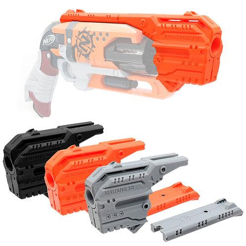 MaLiang 3D Print Hawk Eye Handgun Barrel JN-03 for Nerf HammerShot