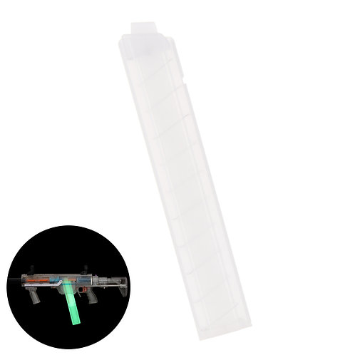Worker MOD Glow in Dark Angled Talon Stefan Magazine 18 Rounds Short Dart Clip
