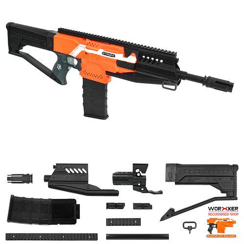 Worker MOD F10555 Halo M412 DMR Imitation Kit for Nerf Stryfe