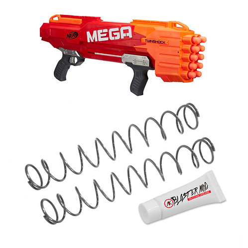 Nerf MEGA Twin Shock 9KG Modification Upgrade Spring Coil