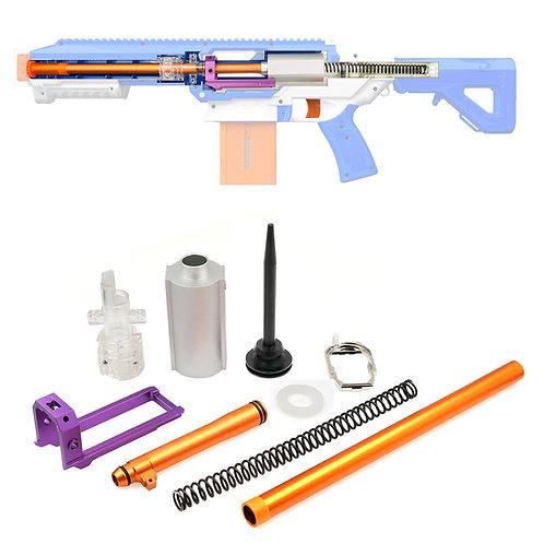 Metal Alloy Stefan Short Dart Chamber Breech Boltsled Kit for Jet CEDA Toy