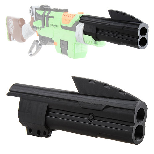 Worker MOD F10555 3D Print Shotgun Barrel Muzzle for Nerf SlingFire