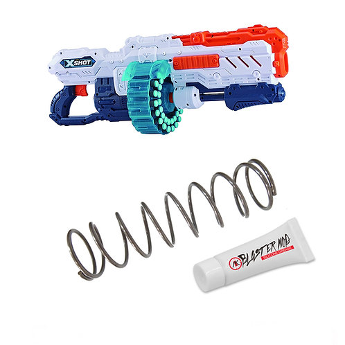 X-Shot Excel Turbo Advance 5KG Modification Upgrade Spring Coil Blaster Dart Toy