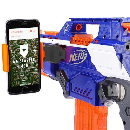 Tactical Smart Phone Fixture Mount Rail AR Game for Nerf Blaster MOD