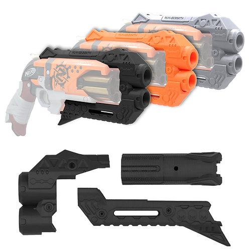 MaLiang 3D Print Grim Reaper Pistol Barrel Set for Nerf HammerShot Modify Toy