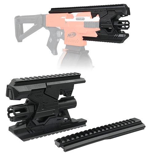 BlasterForgePH 3D Print Premium Kit Tactical Barrel Rail for Nerf Stryfe