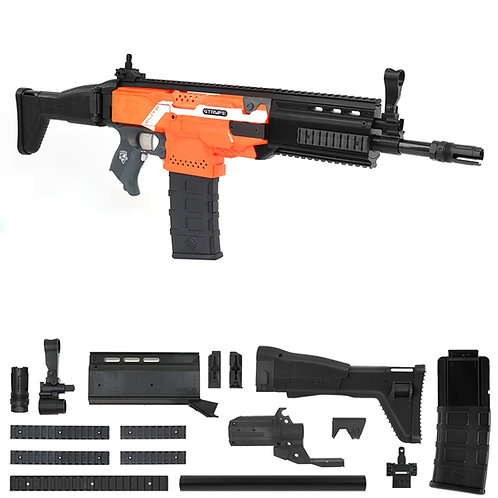 Worker MOD F10555 FN Scar Imitation Kit for Nerf Stryfe