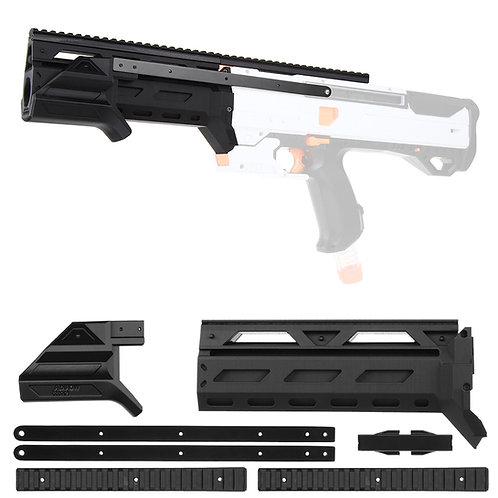 Worker MOD F10555 Pump Kit Barrel Prime Grip for Nerf Rival Helios