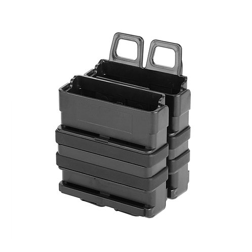 Tactical Double Stacks Magazine Holders Gear Dual Mags for Nerf Blaster Modify T