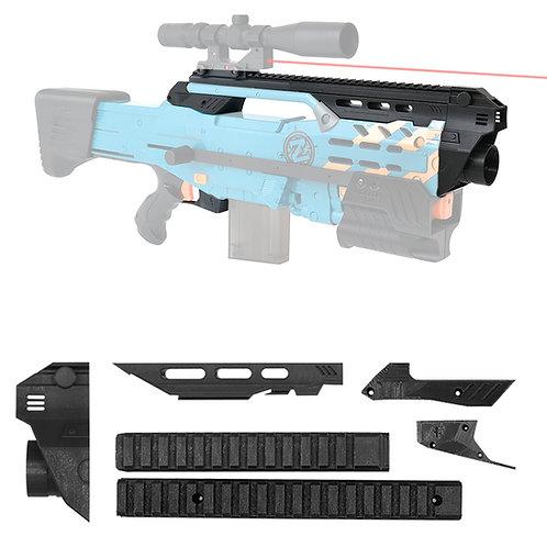 BlasterforgePH 3D Print Hulker Kit Tactical Outer Set for Nerf LongShot