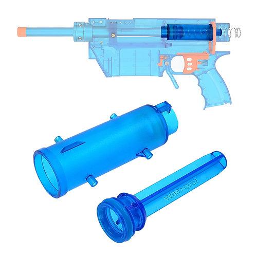 Worker MOD Prophecy-R DIY Basic Plunger Tube Rod for Nerf Retaliator Modify Toy