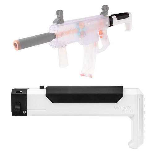 Worker MOD F10555 Lipo Battery House Fixed Butt Stock for Nerf Stryfe