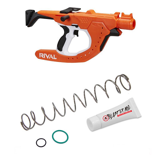 Nerf Rival Curve Shot Sideswipe 13KG Modification Spring Coil Blaster Toy