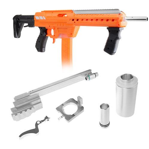 Worker MOD Silver Metal Prime Bridge Chamber Kit for AF Nexus Pro Blaster Toy