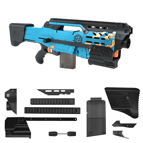 BlasterforgePH 3D Print Hulker Expansion Set for Nerf LongShot