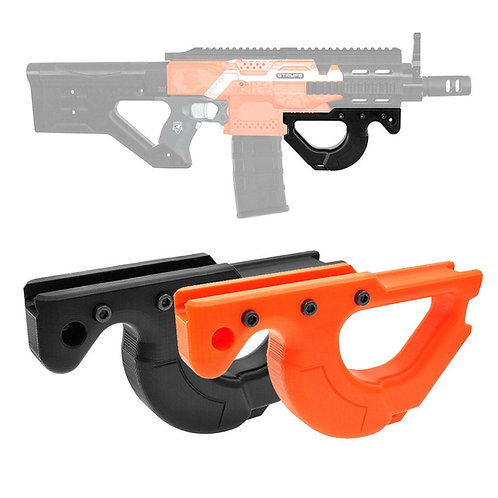 XSW MOD 3D Print CQR P90 Tactical Vertical Fore Grip Picatinny Rail for Nerf Toy