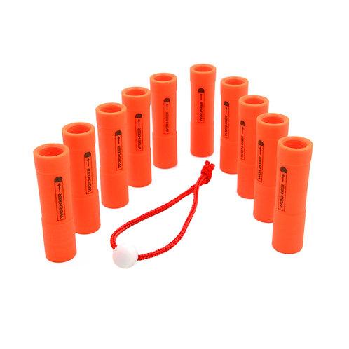 Worker MOD Cylinder Elite Dart Fixture Tube for Nerf Mega Blaster