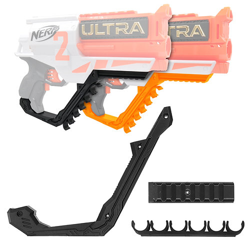 AK Blaster MOD Printed Handle Guard Rail Dart Holder for Nerf Ultra 2