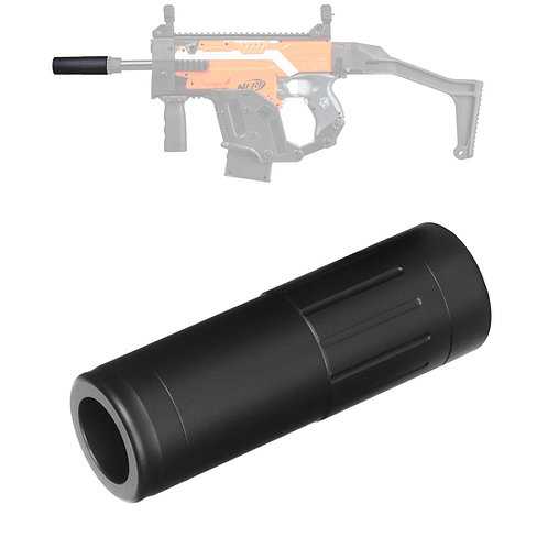 Worker MOD 95mm Silencer Screw on Barrel Extension for Nerf Modify Toy