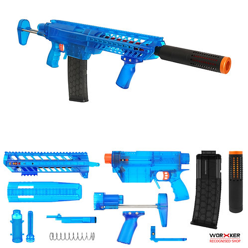 Worker MOD Prophecy-R Basic Set MCX Pump Kit Buttstock Nerf Toy