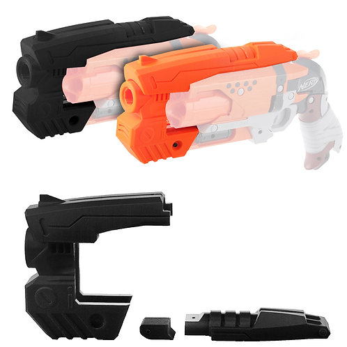 Worker MOD Tactical Handgun Barrel 3D Print for Nerf HammerShot Modify Toy