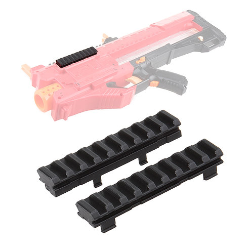Worker MOD F10555 Tactical Side Rail Pair 3DPrint for Nerf Rival Zeus