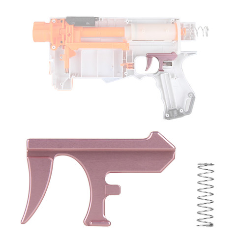 Worker Mod Metal Trigger Push Lever For Nerf Retaliator Modify Toy