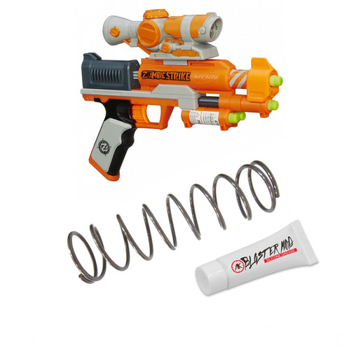 Nerf Zombie ZED Squad 7KG Modification Upgrade Spring Coil Blasters Dart Toy