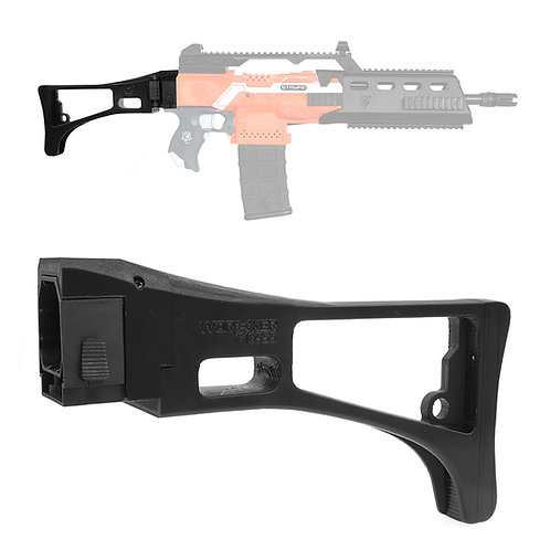 Worker MOD F10555 HK G36 Carbine Style Foldable ButtStock for Nerf Toy
