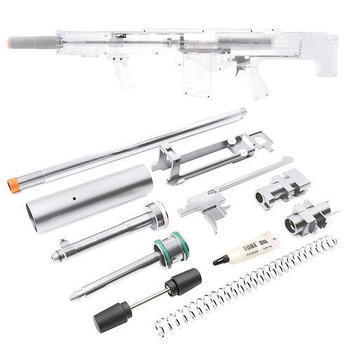 Worker MOD Silver Plus Metal Breech Bolt Extended Spring 28N Kit for LongShot
