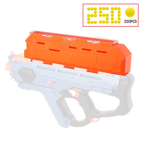 Worker MOD Extended Hopper 3D Printed Shell for Nerf Rival Perses Modify Toy