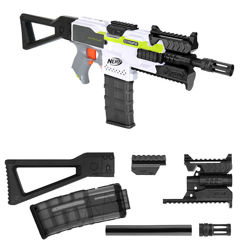 MaLiang 3D ATLAS MP-101 Rifle Imitation Kit for Nerf Stryfe