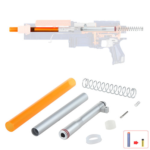 Worker MOD Short Dart Metal Breech Tube Kit for Nerf Alpha Trooper