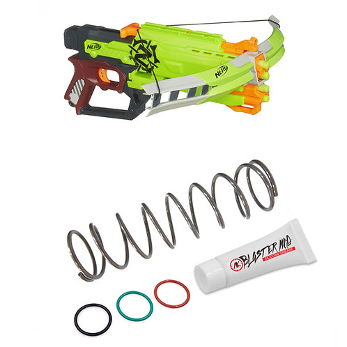 Nerf Zombie Crossfire Bow 5KG Modification Upgrade Spring Coil Blasters Dart Toy