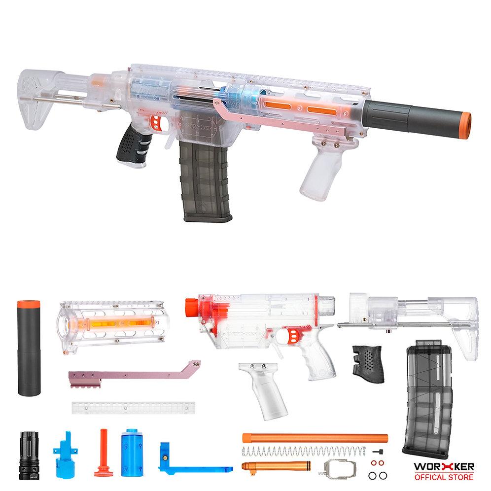 Worker MOD Prophecy-R DIY Stedan Kit 14 items PDW Honey Badger Foam Blaster