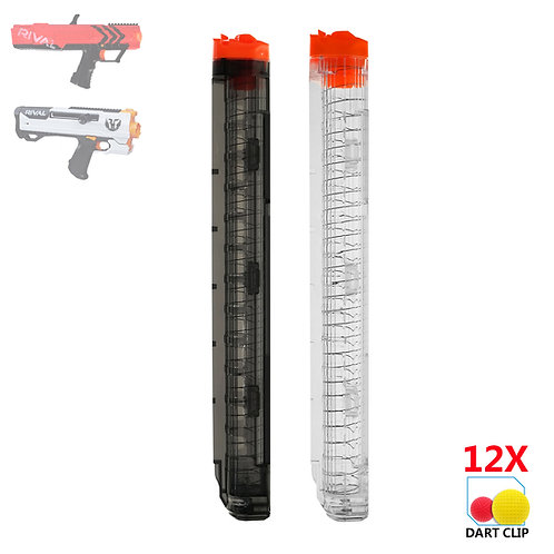 AKBM 12 Rounds Magazine Ball Clip for Nerf Rival Toy