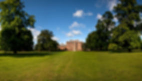 Kiplin Hall distant from parkland.JPG