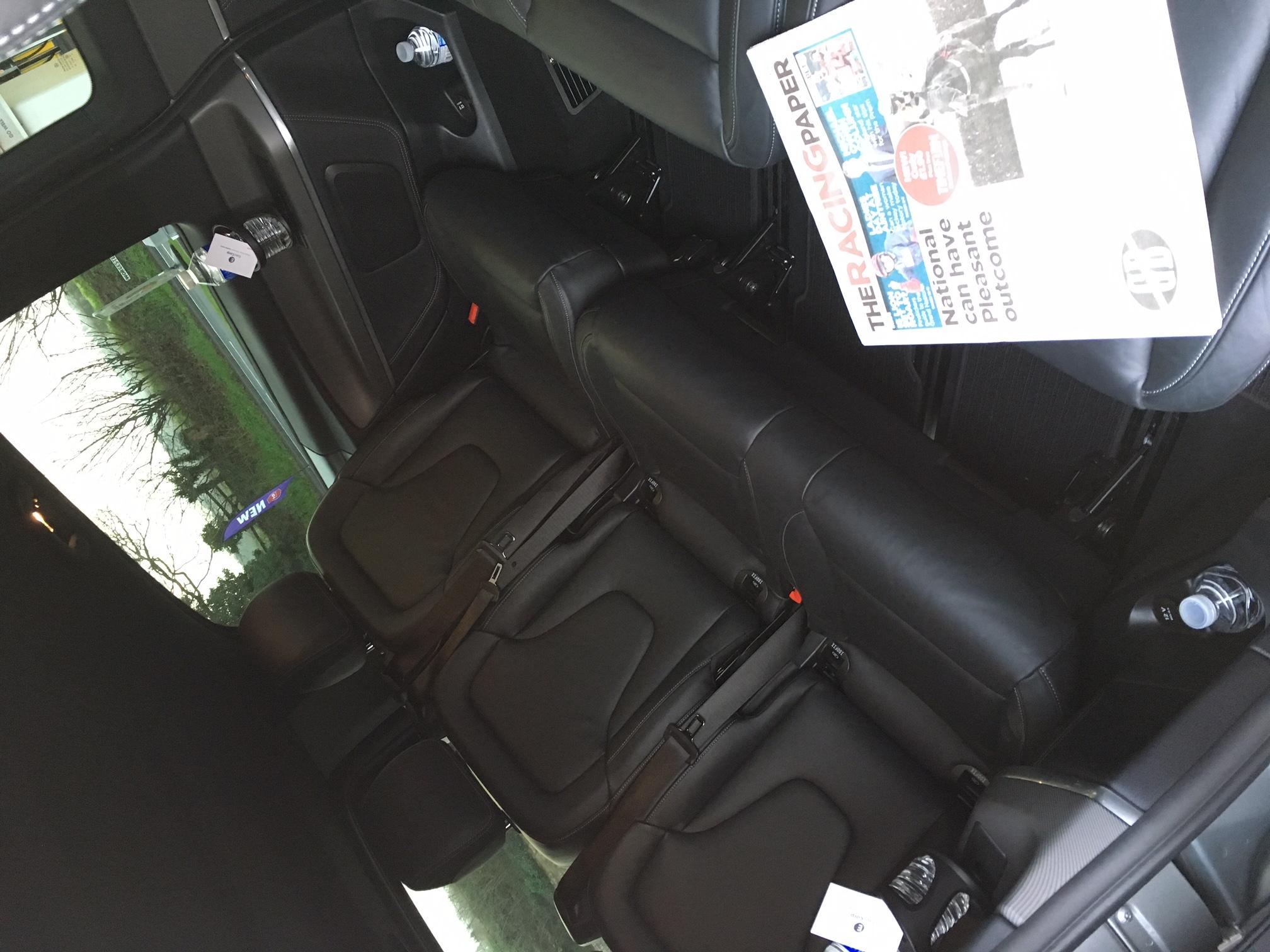 Chauffeur Minibus Grand National