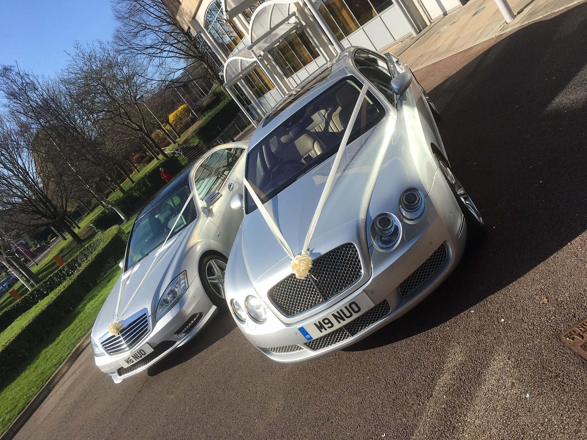 Bentley-Mercedes-wedding-car-hire
