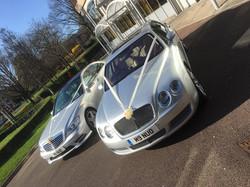 Bentley-Mercedes-wedding-car-hire