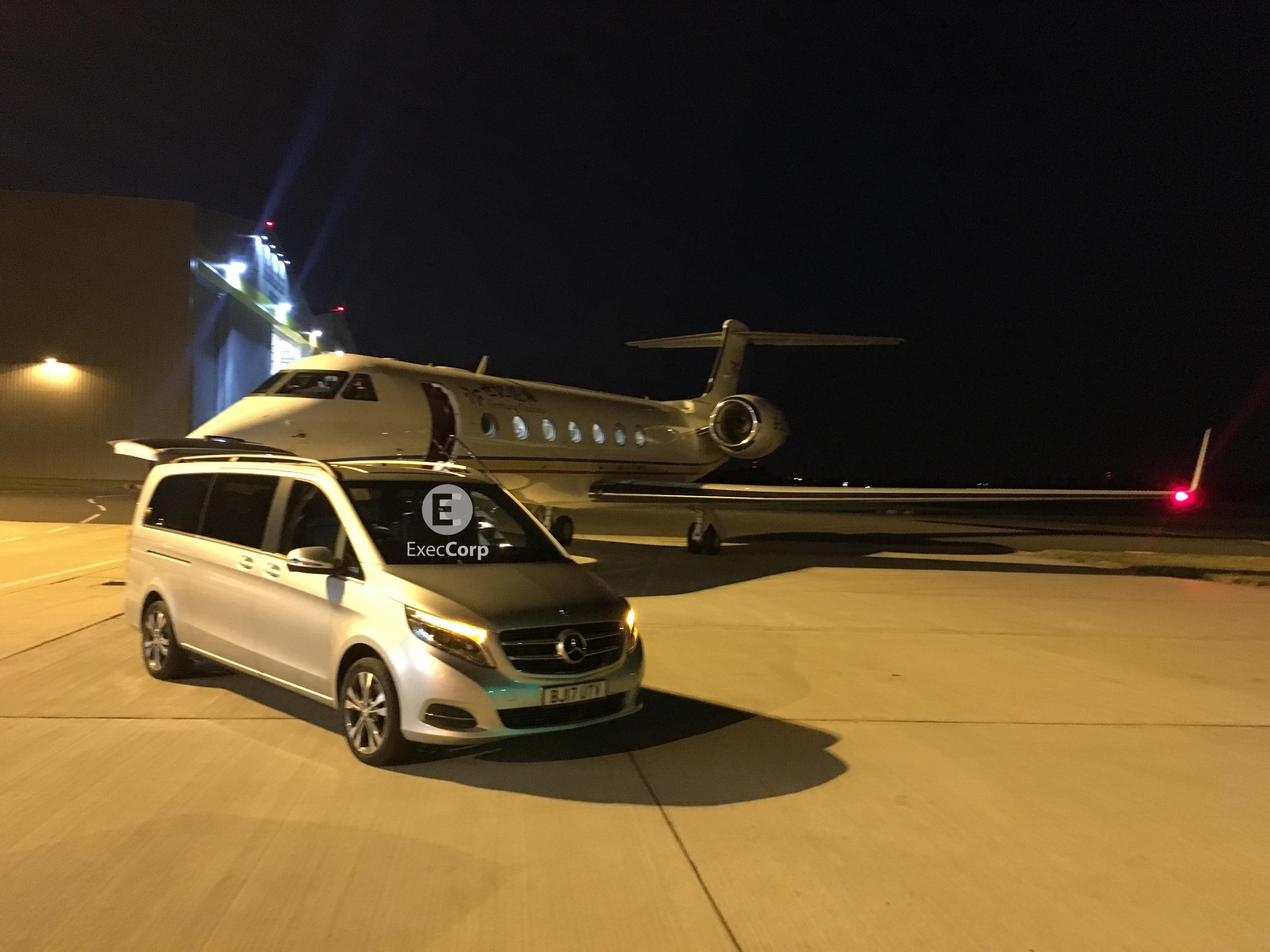 Chauffeur V class Airside