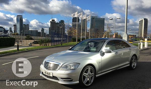 Business-travel-chauffeur-Mercedes-S-Cla