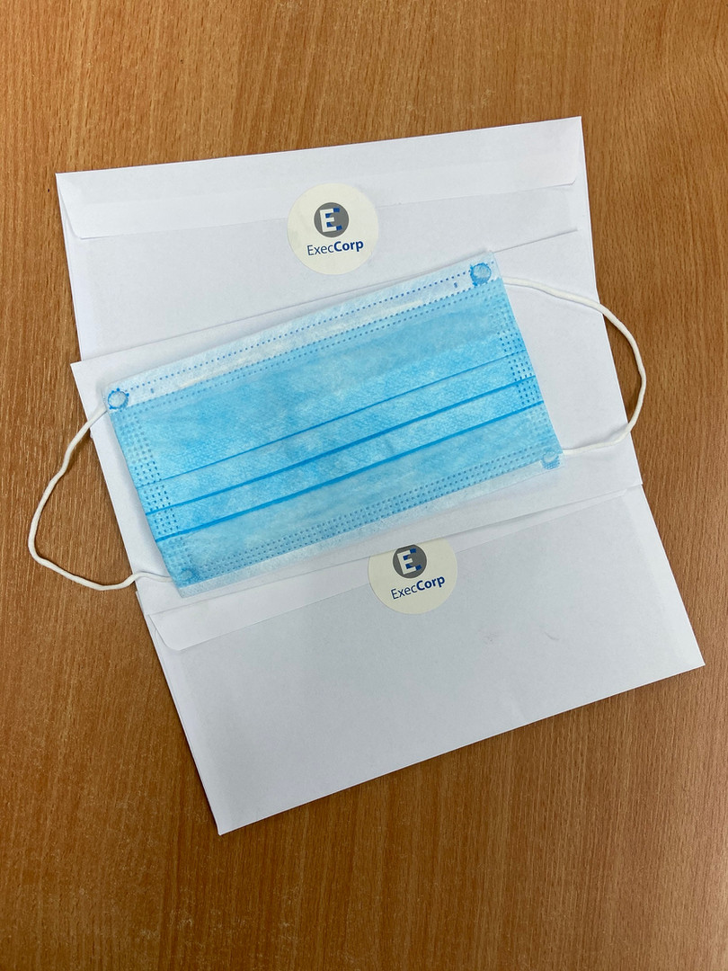 Individually packed Complimentary Face Mask