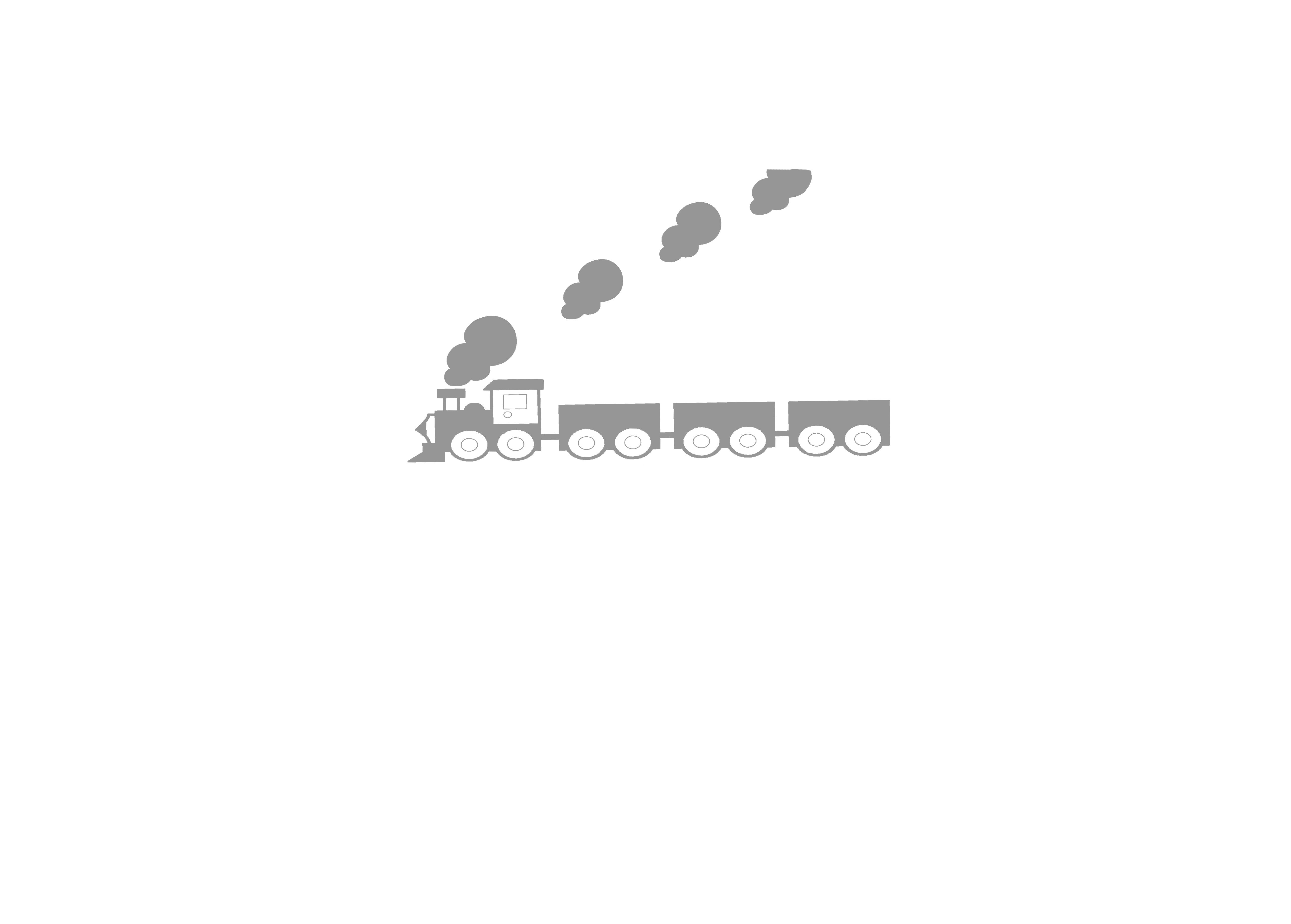 tren gris