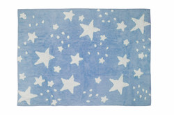 Lluvia de estrellas celeste
