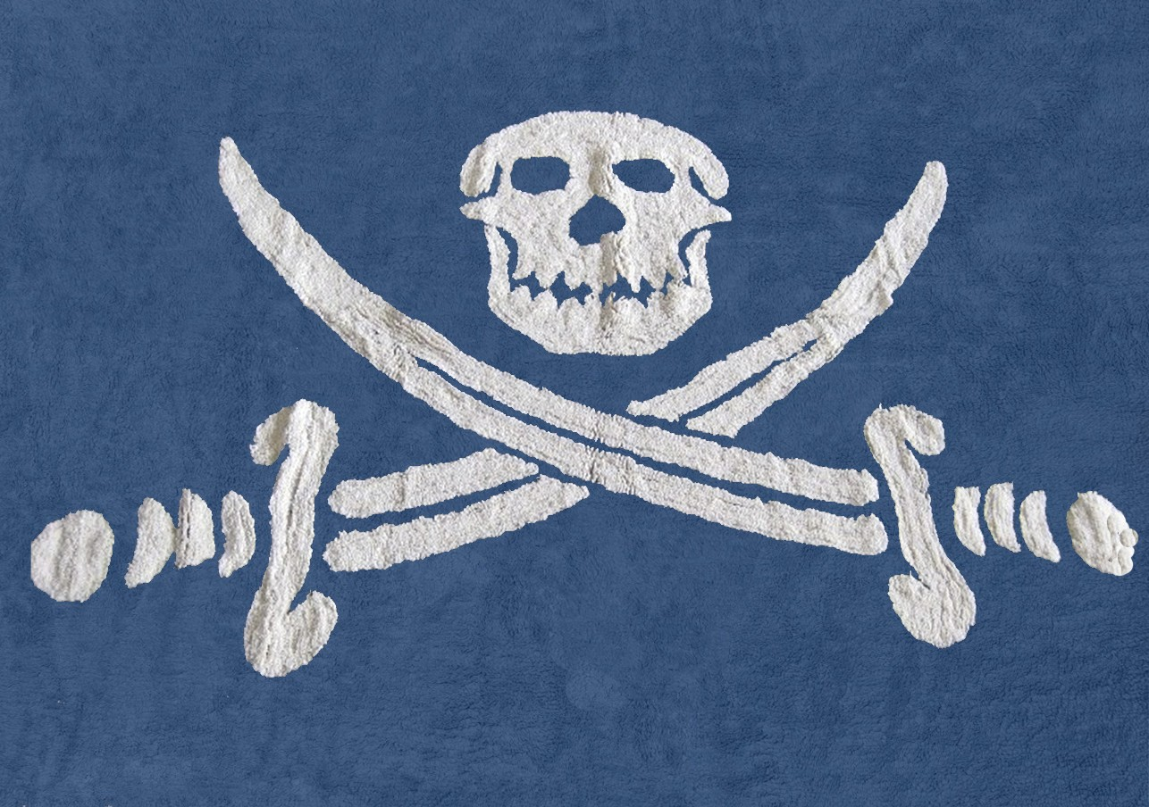 Bandera Pirata Marino