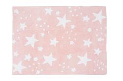 Lluvia de estrellas rosa